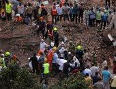 ارتفاع عدد قتلى حادث انهيار مبنى في الهند إلى20 شخصا ورئيس الوزراء يعزى الأهالى ..صور
