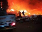 اندلاع حريق كبير فى مصنع قرب العاصمة الإيرانية ولا أنباء عن خسائر