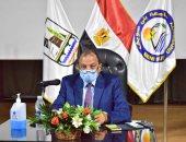 رئيس جامعة بنى سويف يثمن دور رعاية الشباب فى بناء شخصية الطالب
