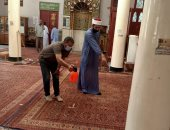 الأوقاف تواصل حملة نظافة وتعقيم المساجد.. وتؤكد: نظافة المساجد وطهارتها طريق إلى الجنة.. صور