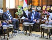 محافظ كفر الشيخ يستقبل رئيس هيئة الأبنية التعليمية لافتتاح 5 مدارس جديدة