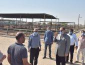 محافظ أسيوط يوجه بوضع خطة عاجلة لاستغلال مزرعة الثروة الحيوانية