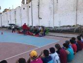 انتهاء فعاليات اختبارات المدرسة الرياضية في استاد بنها.. صور