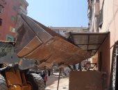 ضبط 64 حالة إشغالات طريق بأحياء العجمى وشرق الإسكندرية