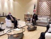 العاهل الأردنى يستقبل سامح شكرى ووزير خارجية فرنسا لبحث القضية الفلسطينية