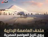 متحف العاصمة الإدارية.. يروى تاريخ العواصم المصرية (إنفوجراف)