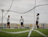 موراتا يتدرب لأول مرة مع رونالدو وديبالا بعد العودة ليوفنتوس.. صور