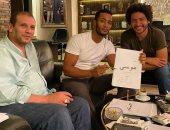 """محمد رمضان فى جلسات عمل مكثفة مع مخرج مسلسله الجديد """"موسى"""""""
