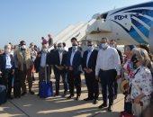 30 سفيرا يتفقدون مطار شرم الشيخ للتعرف على الإجراءات الاحترازية.. صور