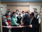 رئيس جامعة حلوان يفتتح وحدة علاج الأورام والعلاج الكيميائى بمستشفى بدر الجامعى