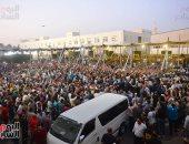 جنازة مهيبة لرجل الأعمال محمد فريد خميس.. الآلاف يشيعون جثمان الراحل.. ألبوم صور