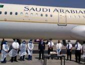 وصول أولى رحلات الخطوط السعودية لمطارى أسيوط وسوهاج.. صور
