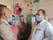 وكيل صحة الغربية يتابع أماكن تقديم خدمة مبادرة الأمراض المزمنة