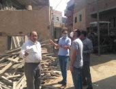 لجنة المشروعات ببنى سويف تزور قرى الواسطى لرصد مستوى الخدمات.. صور
