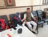 كنيسة أبوكبير شرقية تحتضن مبادرة الأمراض المزمنة للكشف على المواطنين.. صور