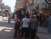 وصول محافظ المنوفية ومدير الأمن سرس الليان لحضور جنازة شهيد الواجب بحادث طرة
