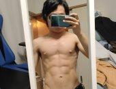 """صور.. طالب يابانى يخسر وزنه وينحت جسمه باستخدام """"لعبة"""".. اعرف القصة"""