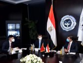 """تشكيل مجموعة عمل بين """" هيئة الاستثمار"""" والسفارة الصينية بمصر .. صور"""