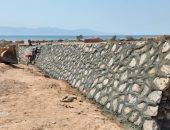 """""""الرى"""": تطهير بحيرات تخزين مياه الأمطار فى محافظة جنوب سيناء"""