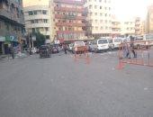 هدوء وسيولة مرورية فى ميدان التحرير بالشرقية.. صور وفيديو