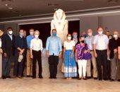 وزير السياحة والآثار و30 سفيراً بمصر فى زيارة لمتحف شرم الشيخ