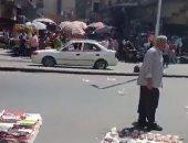 """مظاهرات فشنك.. إخوانى يحرض على التخريب بالعتبة """"ومش لاقى حد معاه"""".. فيديو"""