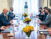 صور.. عبد الله بن زايد: الإمارات واليونان تطمحان لتأسيس شراكة استراتيجية