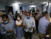 وزير السياحة يصطحب 30 سفيرا أجنبيا لتفقد مستشفى شرم الشيخ الدولى