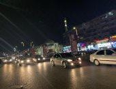 """""""ليلة جمعة الفشنك"""".. مدينة 6 أكتوبر تتزين ليلاً في غياب تام للدعوات الاخوانية.. صور"""