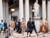 ماكس مارا تقدم عرضا على طريقة عصر النهضة بأسبوع الموضة فى ميلانو لربيع 2021