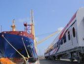 السكة الحديد تستقبل 18 عربة روسية جديدة درجة ثالثة مكيفة عبر ميناء الإسكندرية