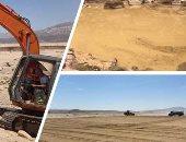 كيف استطاعت الدولة حماية جنوب سيناء من السيول؟.. إنشاء 23 سدا و229 بحيرة.. مراحل العمل متواصلة حتى 2022 بتكلفة تصل إلى 6.1 مليار جنيه.. تخزين 30 مليون متر مكعب من المياه حقق استثمارات بقيمة 82 مليون جنيه.. صور