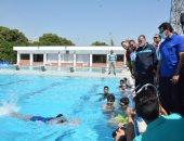 وزير الرياضة يشيد بإمكانيات القرية الأولمبية فى جامعة أسيوط