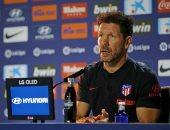 سيميوني: جماهير أتليتكو مدريد تنتظر الكثير من جريزمان