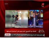 عمرو أديب عن رفع دينا الشربينى للأثقال: ربنا يكون فى عونك يا هضبة