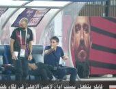 """فايلر ينفعل على لاعبى الأهلى فى مباراة طنطا """"فيديو"""""""