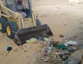 رفع 8 طن مخلفات من شوارع الحسنة بوسط سيناء