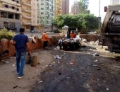 حى ثان المحلة ينفذ حملات نظافة وتجميل بشوارع المدينة