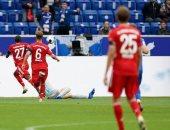 ملخص وأهداف مباراة هوفنهايم ضد البايرن 4 -1 في الدوري الألماني