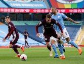 مان سيتي ضد ليستر سيتي.. التعادل 1 - 1 يحسم الشوط الأول فى الدوري الإنجليزي