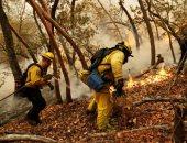 صور.. تجدد حرائق الغابات فى ولاية كاليفورنيا وإجلاء السكان