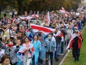 صور.. مظاهرات حاشدة فى مينسك تطالب رئيس بيلاروسيا بالتنحى