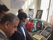 وزير الشباب يتفقد نهائيات أولمبياد الطفل المصرى بمشاركة 4462 لاعبا بسوهاج