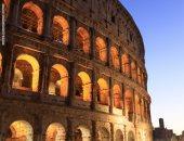 """إضاءة المدرج الرومانى الكولوسيوم احتفالا بالذكرى 75 لإنشاء """"الفاو"""".. فيديو"""