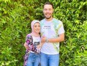 جمهور اليوتيوبر أحمد حسن ينتقد زوجته بعد ارتداء الحجاب.. فيديو