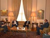 شكري يؤكد موقف مصر الراسخ من قضية فلسطين ودعم الحقوق المشروعة للفلسطينيين