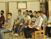 جامعة المنيا توقع الكشف الطبى على المتقدمين لكليتى الحقوق والأسنان
