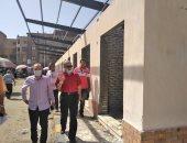 سكرتير عام محافظة بورسعيد يتابع مستجدات تطوير بعض أسواق المحافظة.. صور