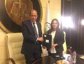 """""""نادى القضاة """" يوقع مذكرة تفاهم مع مركز جامعة القاهرة للغات والترجمة"""