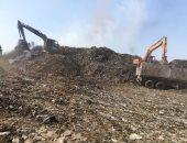 رفع 255 ألف طن قمامة من جبل منوف وخطة متكاملة لإعادة تطوير المقلب.. صور